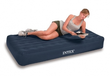 Intex Twin Super Tough Airbed Kit