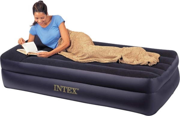 Intex Twin Pillow Rest Raised Airbed