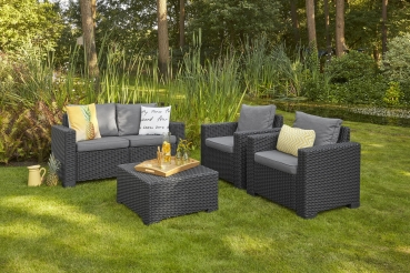 Allibert Loungetisch California Graphite