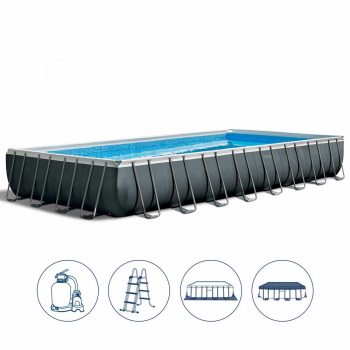 Intex Ultra XTR Frame Pool Set 975x488x132cm mit Sandfilter