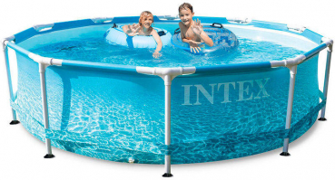 Intex Beachside Metal Frame Pool Set Ø 305x76cm (Neuheit 2021)