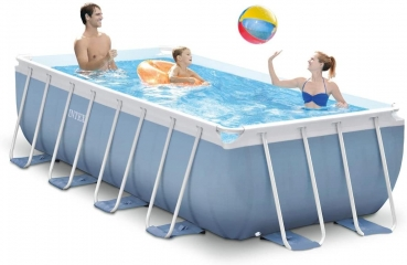 Intex Prism Frame Rectangular Pool 488x244x107cm